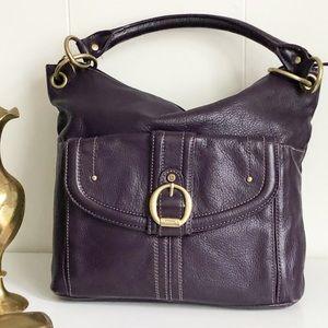 Handbags - Leather Purple Small Hand Shoulder Purse 2020